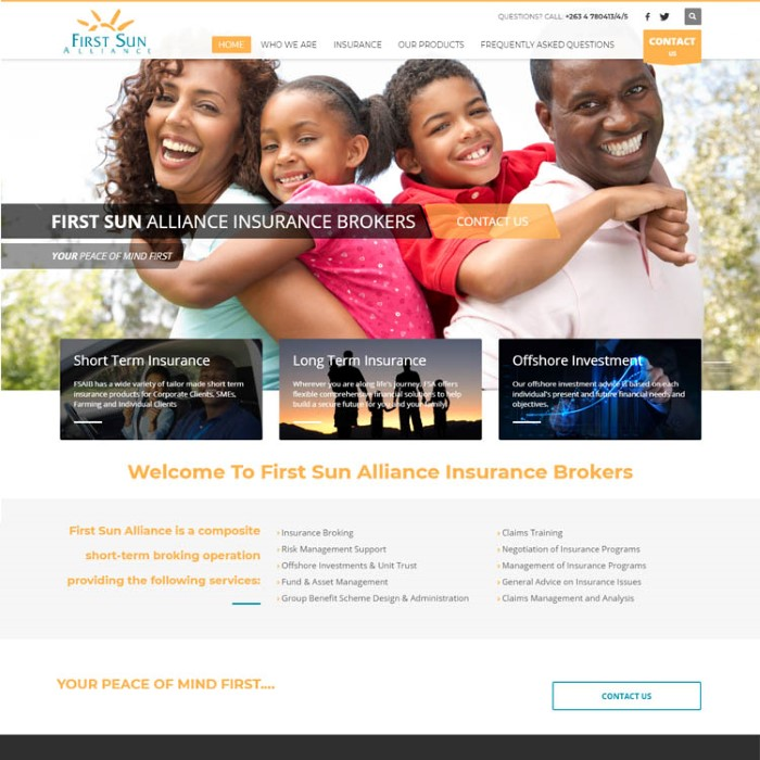 first sun alliance website